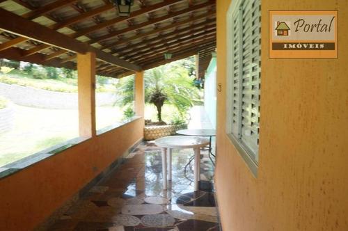 Imagem 1 de 11 de Chácara Com 4 Dormitórios (3 Suítes) No Bairro Jardim Morada Alta Em Jarinu-sp. - Ch0006