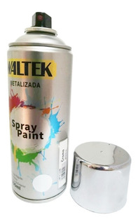 Pintura Metalizada En Aerosol 400ml Waltek