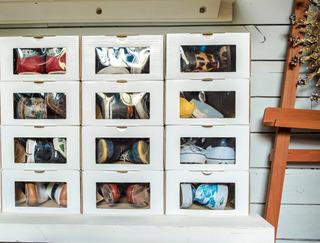 Caja Zapatos Organizadora (talle 40-46) Pack 12 Un Enorden