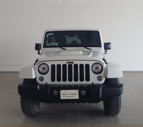 Jeep Wrangler Unlimited Sahara 4x4 2017 Blanco