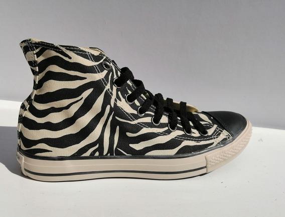 Zapatillas Converse All Star Hi Zebra Print