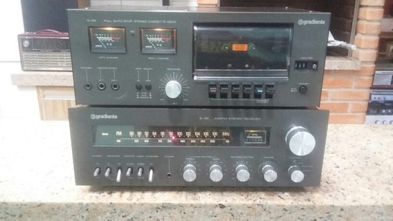 Rádio Receiver Gradiente S 95 Tape Deck S 95 Sonata Sharp