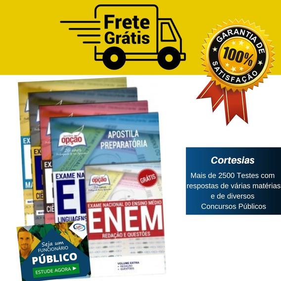 Apostila Enem + Caderno De Testes - Coleção Completa