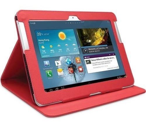 Case Samsung Galaxy Note 10,1 Gt-n8000 N8010 N8020 Vermelho