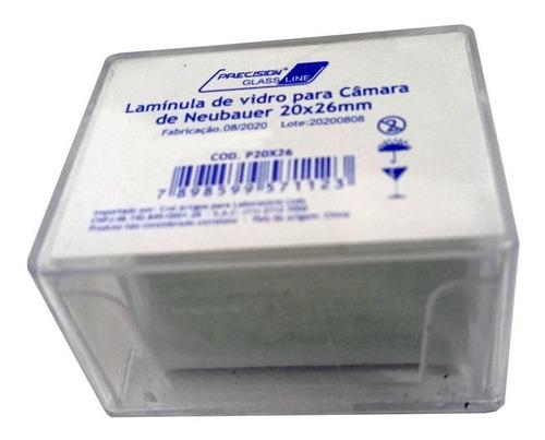 Lamínula 20x26mm De Vidro Câmara De Neubauer - 500 Unidades