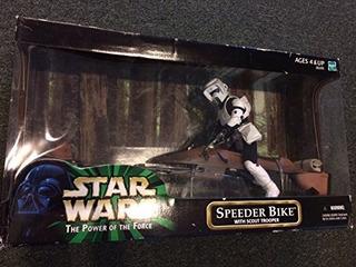 Bicicleta Speeder Star Wars Con Scout Trooper