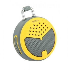 Bocina Bluetooth Hoco Amarillo Bs17