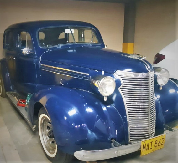 Chevrolet Sedán 1938 Único En Cali, Venta O Permuta