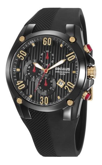 Relógio Masculino Seculus 28207gpsvpu3 Cronógrafo Original