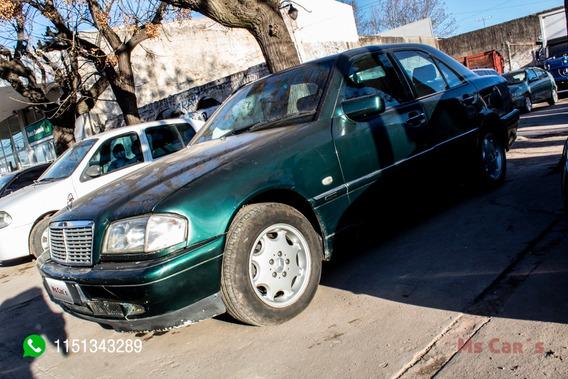 Mercedes Benz C240 Elegance Verde 1999 Nafta