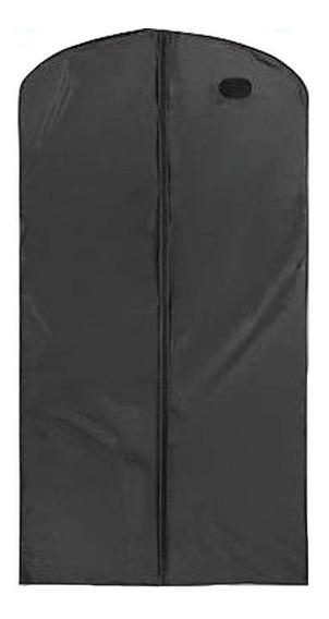 Paquete De 12 Porta Vestido De Novia Vinil Negro 91x182 Cm