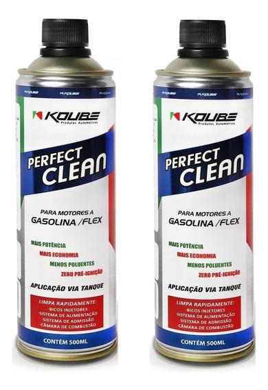 Kit 2 Perfect Clean Flex Gasolina, Etanol E Gnv Koube