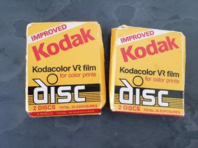 Kodak Kodacolor Vr Film, 2 Caixas Com 2 Discos Cada 30 Exp