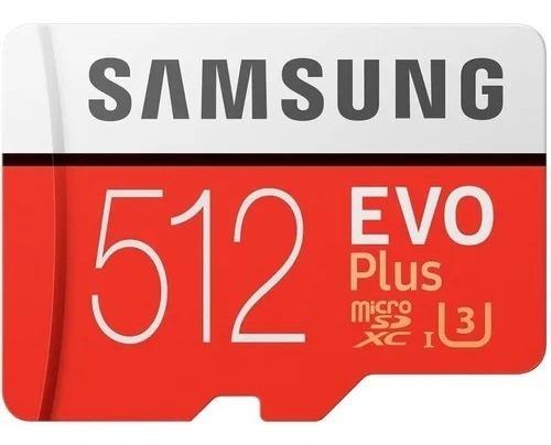Imagem 1 de 1 de Microsd Samsung Evo 512gb 4k