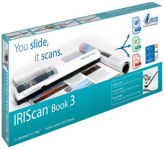 Escaner Portatil De Mano Documentos Scanner Iriscan Book 3