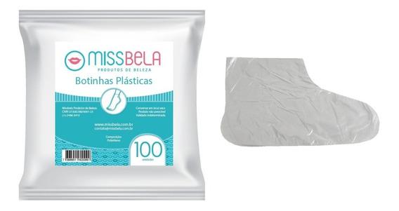 2000 Botinha Plástica Descartável Missbela - Atacado