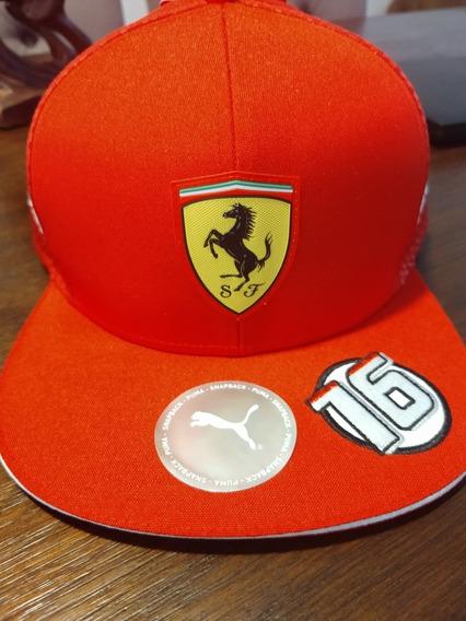 Gorras Originales F1 Puma Ferrari 2019 Charles Leclerc