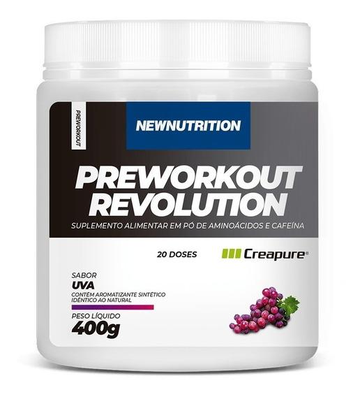 Pré-treino Preworkout Revolution 400g Newnutrition