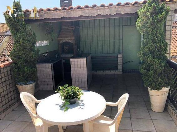 Casa Com 2 Dormitórios À Venda, 55 M² Por R$ 325.000 - Tupi - Praia Grande/sp - Ca0094