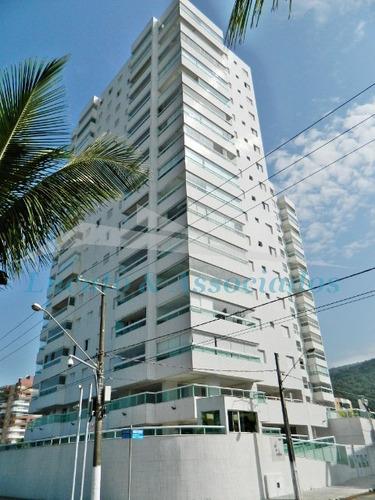 Apartamento No Solemar, Frente Mar, 03 Dormitórios Sendo 01 Suíte, 02 Vagas. - Ap01862 - 67726157