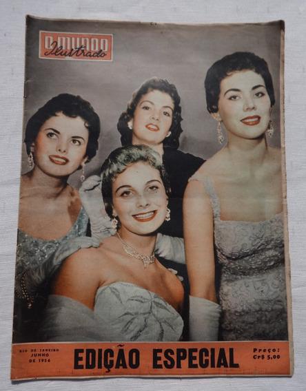 Mundo Ilustrado Especial: Miss Brasil 1956 - Maria José