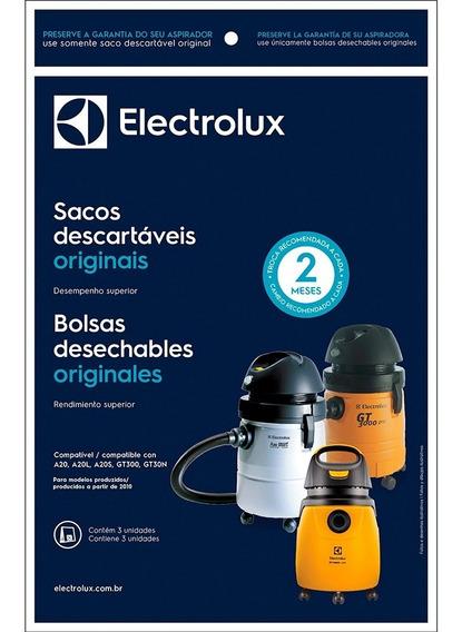 Saco Aspirador Electrolux A20 A20s Gt300 Gt30n 2 Pacotes