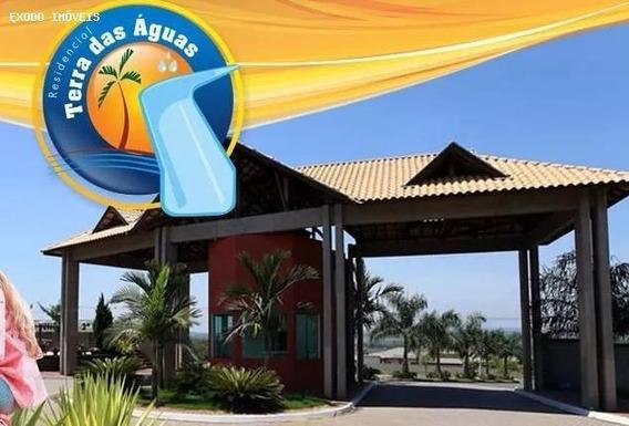 Terreno Em Condomínio Para Venda Em Águas De São Pedro, Centro, 1 Dormitório, 1 Banheiro - Te307