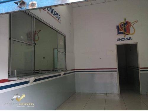 Salão Para Alugar, 170 M² Por R$ 6.000/mês - Centro - Santo André/sp - Sl0195