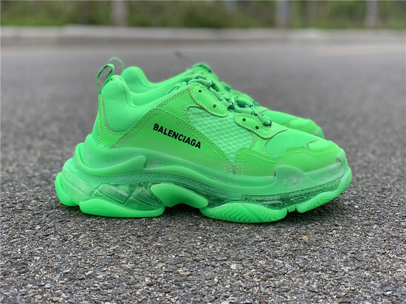 Zapatillas Balenciaga Triple S Neon Green T: 40-45
