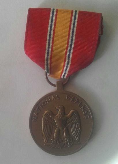 Medalla Al Mérito Defensa Nacional Original