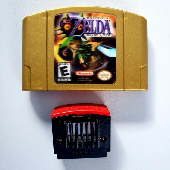Zelda Majoras Mask (holográfica) Original N64 #1