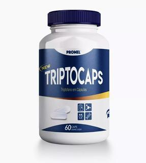 Triptocaps Triptofano 60 Caps 600 Mg