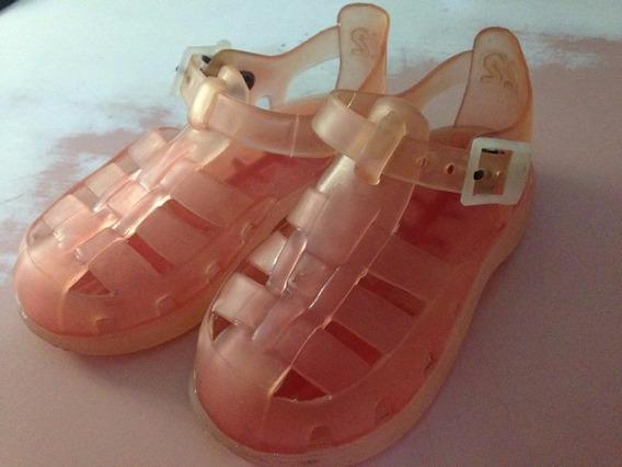 Sandalias Infantil Zara Kids Tam22 Ler Tudo Usada R$33,89