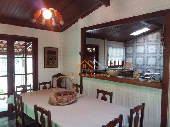 Casa Com 4 Dormitórios, 222 M² - Venda Por R$ 490.000,00 Ou Aluguel Por R$ 1.900,00/mês - Massaguaçu - Caraguatatuba/sp - Ca0021
