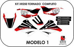 Kit De Adesivo Gráfico Tornado 0.2mm