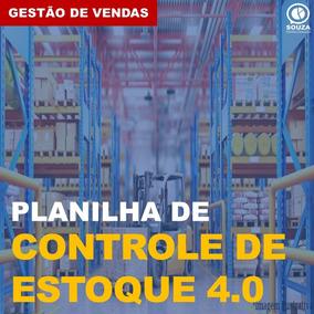 Planilha Controle De Estoque 4.0