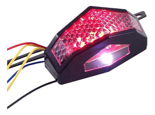 Lanterna Led Moto Cb300 Xt600 Xt660 Xre Todas Universal