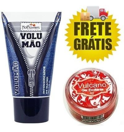 O Legítimo Gel Volumão + Gel Hot - Frete Grátis Todo Brasil