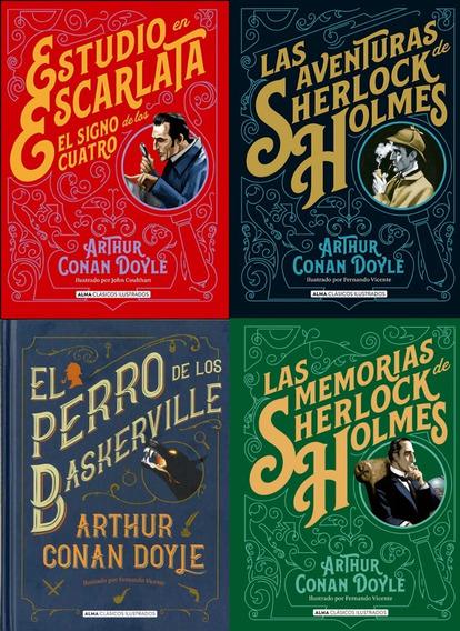 Supercombo Sherlock Holmes (4 Libros)