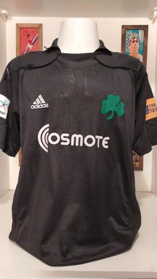 Camisa Futebol Panathinaikos 2010 Fernandes
