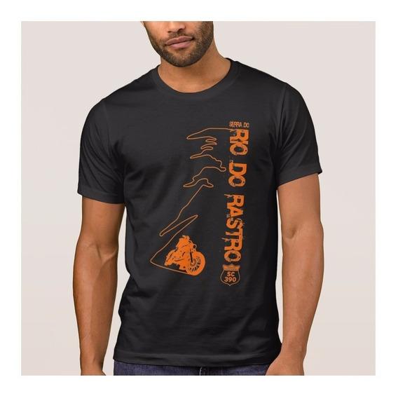 Camiseta Serra Do Rio Do Rastro Especial Extra Grande Motos