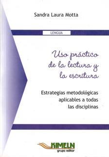 Libro - Uso Práctico De La Lectura Y La Escritura - Lengua