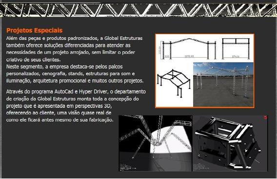 Kit De Projetos Box Truss Pronto Pra Usar Faça Você Mesmo !!