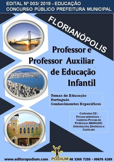Apostila Concurso Prof Educação Infantil Florianópolis 2019