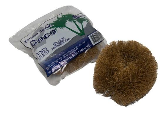 Escova De Limpeza Hb Fibra De Coco N. 2 Tradicional 2 Duzias