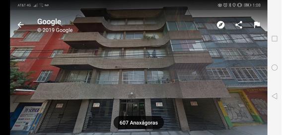 Excelente Departamento Colonia Narvarte (anaxágoras)