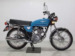 Honda Cg 125 1982 Azul