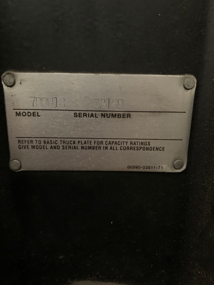 Montacargas Eléctrico Toyota