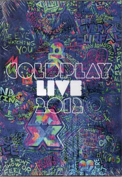 Dvd Coldplay Live 2012