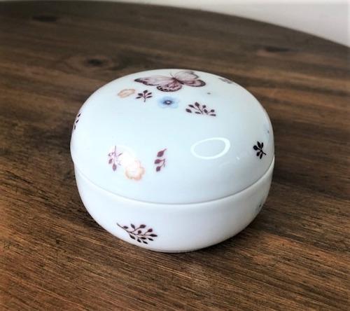 Imagem 1 de 4 de Porta Joia De Porcelana Borboleta